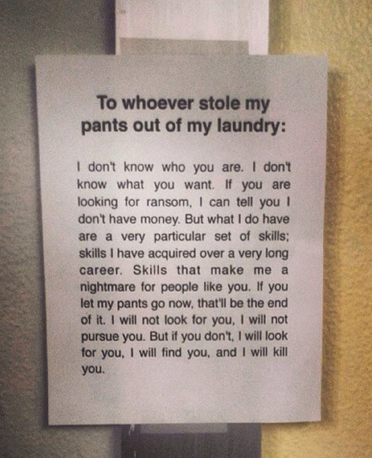 funny-sign-wall-laundry-stolen