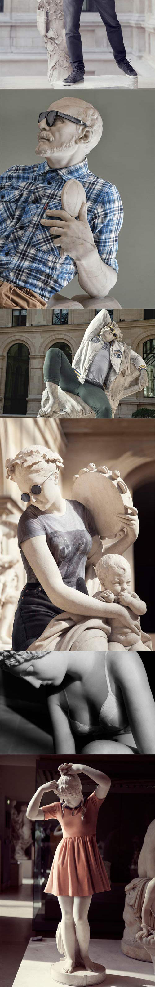 funny-statues-with-clothes