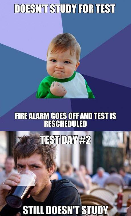 Students who procrastinate…
