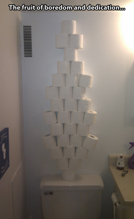 funny-toilet-paper-bathroom-tower