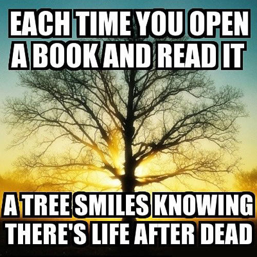 Each time you open a book…