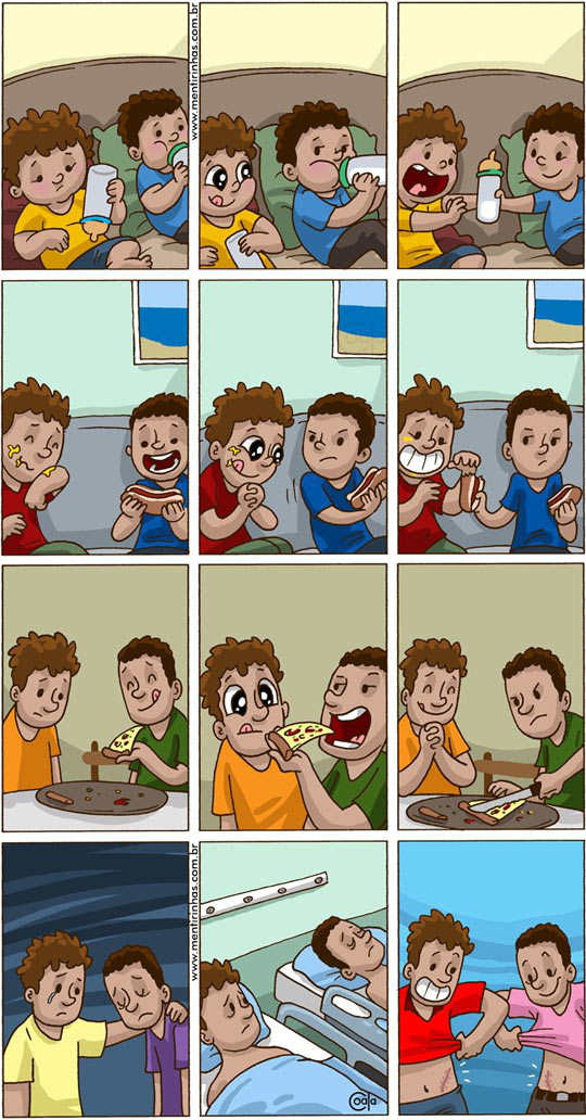 funny-true-friend-share-food
