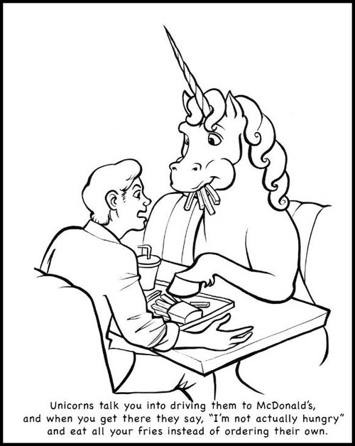 Unicorns are real jerks…