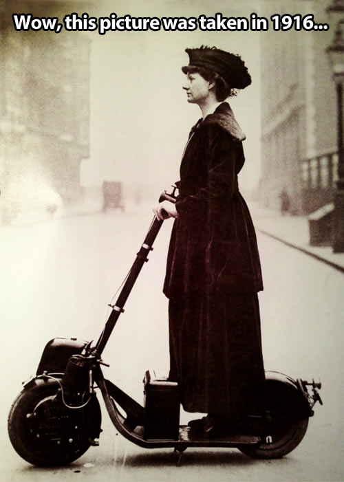 funny-woman-electric-scooter-old