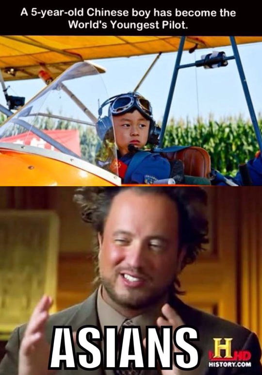 funny-youngest-Chinese-pilot