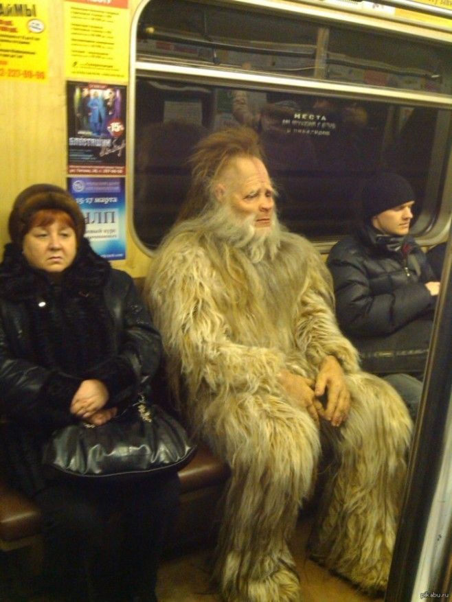 1 Guess, Yetis Do Exist!