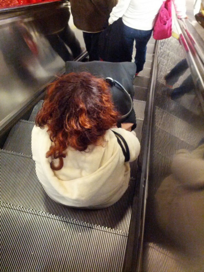11 Just Can't Stand This Escalator