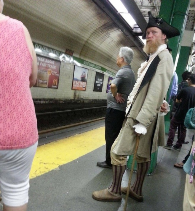 6 Somebody's Been Waiting for a Train since the 18th Century
