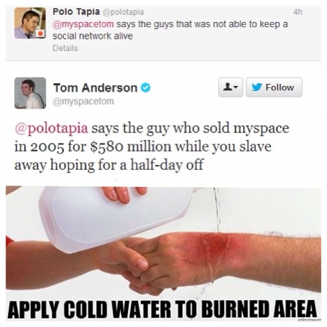 Apparently you don't mess with Tom