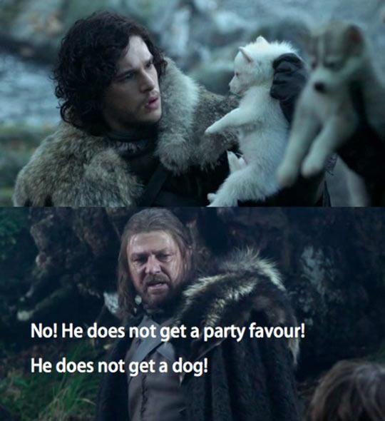 Bridesmaids + Game Of Thrones