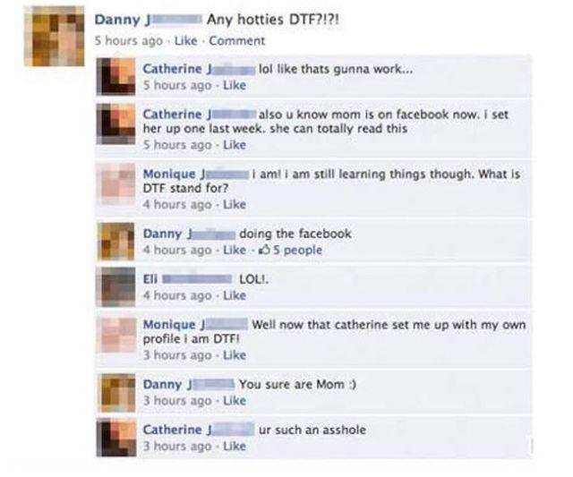 Dumb Facebook Fails - 1