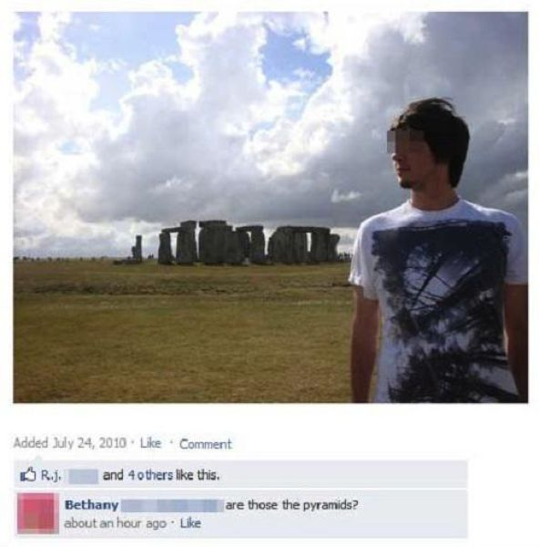 Dumb Facebook Fails - 14