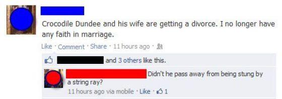 Dumb Facebook Fails - 5