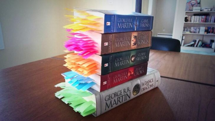EVERY DEATH IN THE GAME OF THRONES SERIES, TABBED