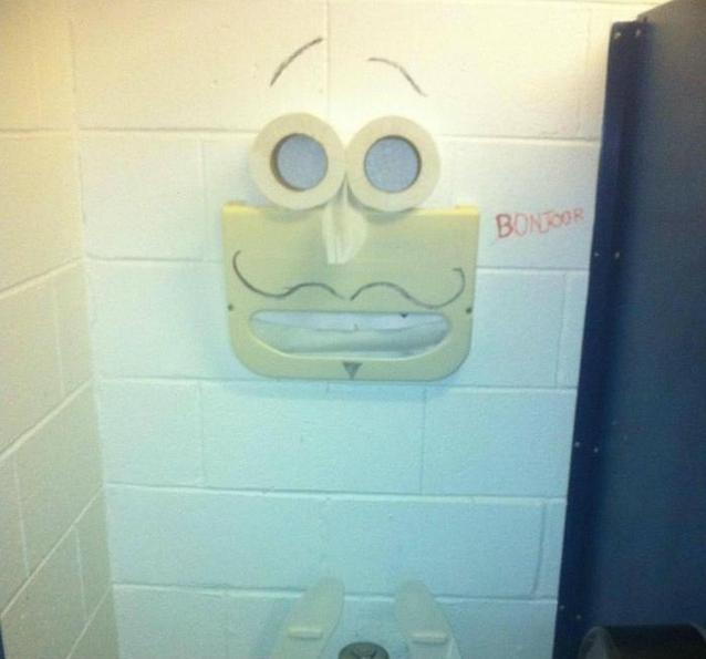 Finding Wierd Faces In Normal Places- 19