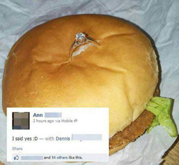Funny Marriage Proposals — 1