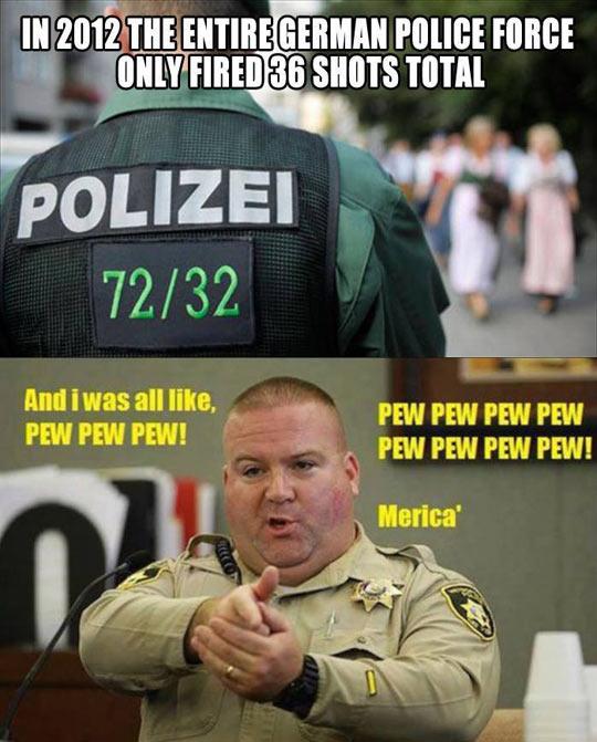 German Police vs. American Police