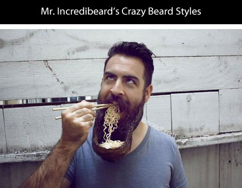 Meet Mr. Incredibeard The Guy Who Loves To Play With His Facial Hair- 1