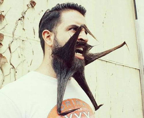Meet Mr. Incredibeard The Guy Who Loves To Play With His Facial Hair- 10
