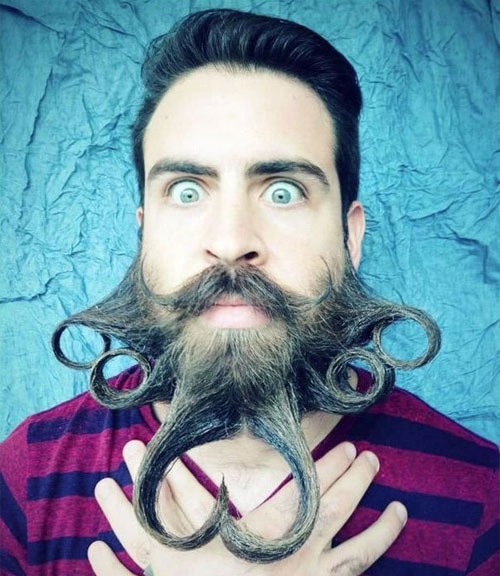 Meet Mr. Incredibeard The Guy Who Loves To Play With His Facial Hair- 3