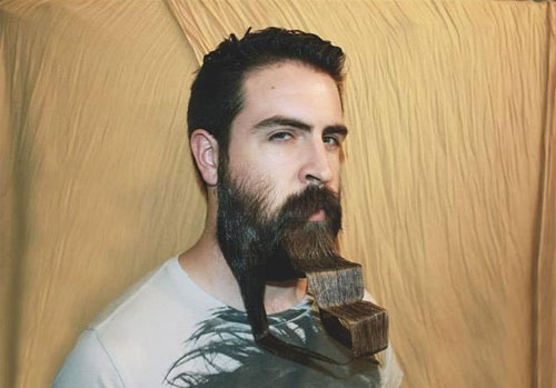 Meet Mr. Incredibeard The Guy Who Loves To Play With His Facial Hair- 5