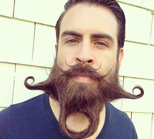 Meet Mr. Incredibeard The Guy Who Loves To Play With His Facial Hair- 7