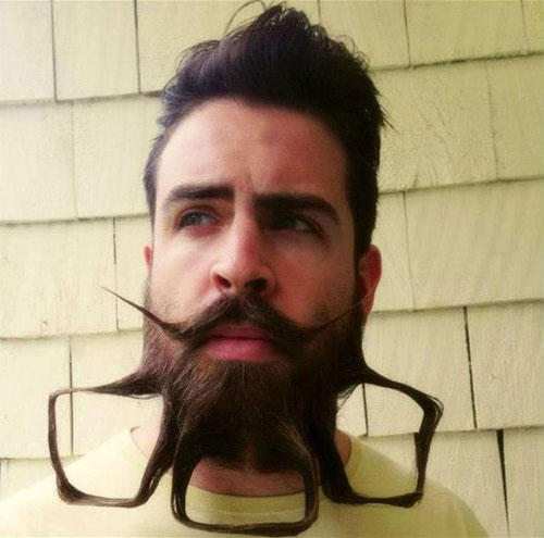 Meet Mr. Incredibeard The Guy Who Loves To Play With His Facial Hair- 8