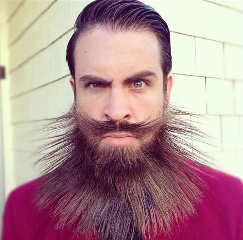 Meet Mr. Incredibeard The Guy Who Loves To Play With His Facial Hair- 9