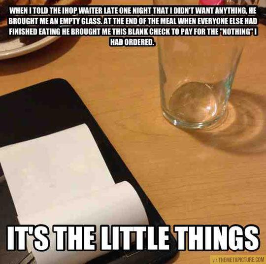 20 Pics Of Funny Things That Happen In Restaurants