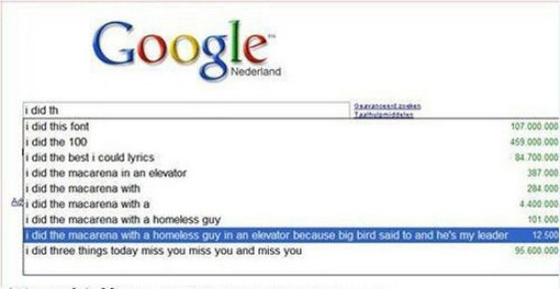 The Most Crazy Google Search Suggestions Of All Time 12