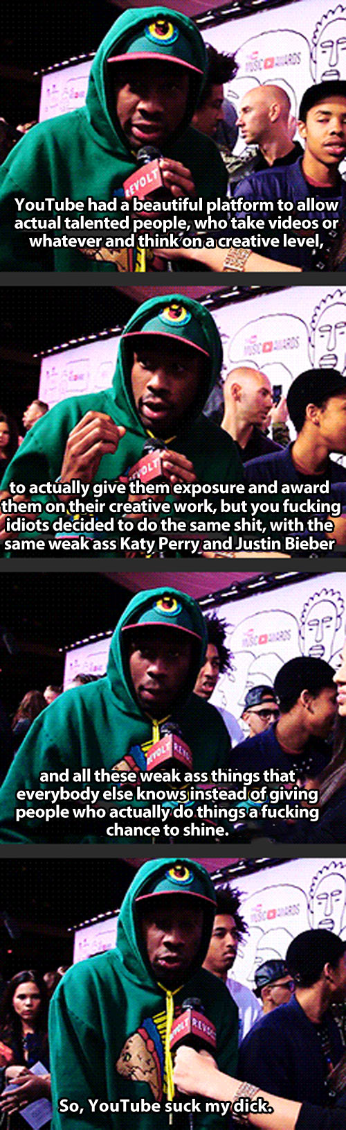 Tyler the Creator, everyone