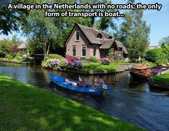 cool-Netherlands-roads-transport-boat