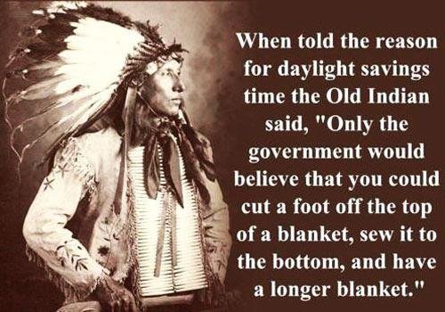 About daylight savings…