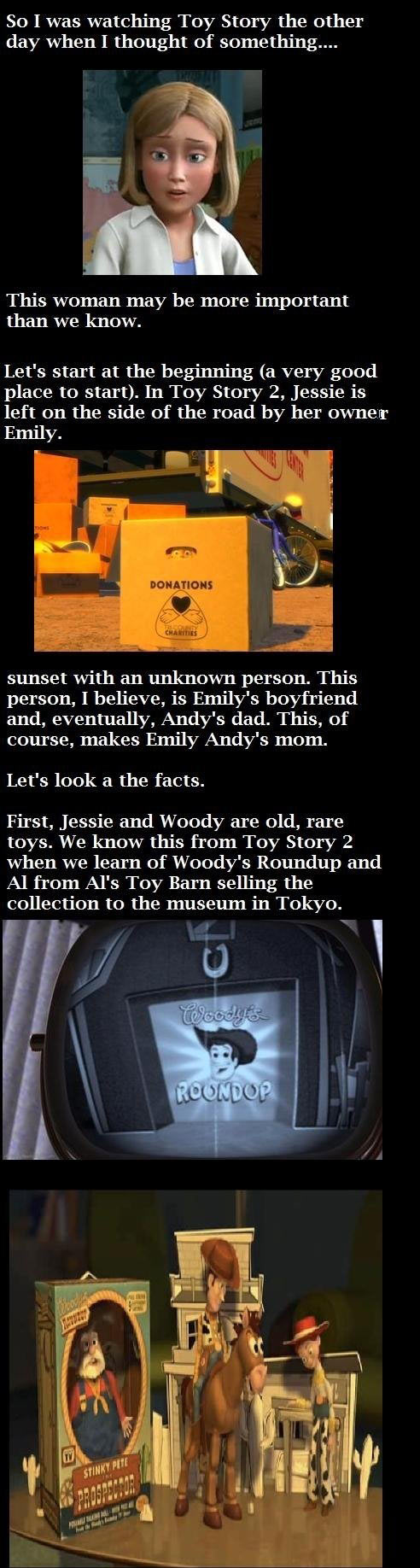 Toy story revelation...
