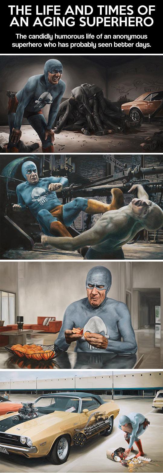 Aging Superhero...