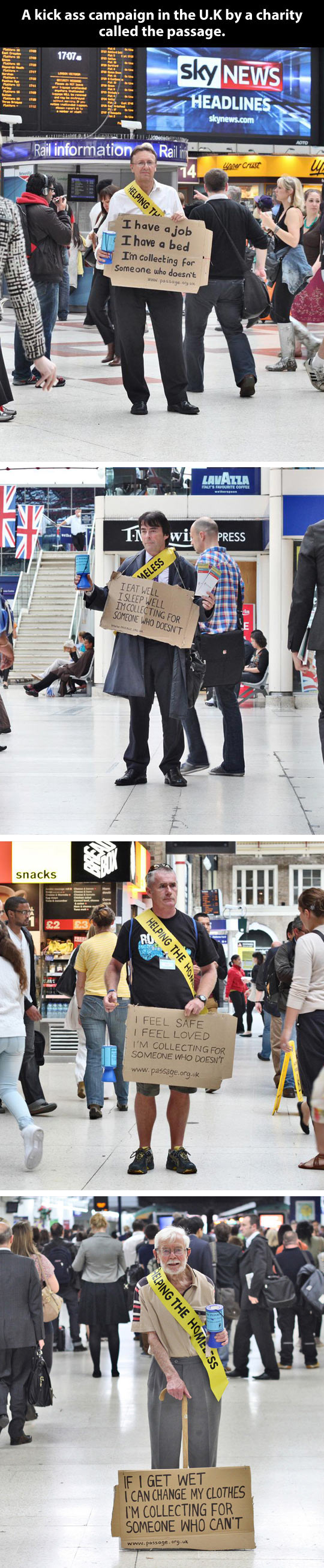 Awesome campaign in the UK…
