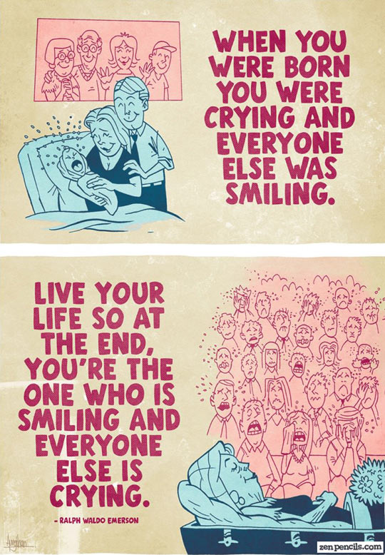 Live your life…
