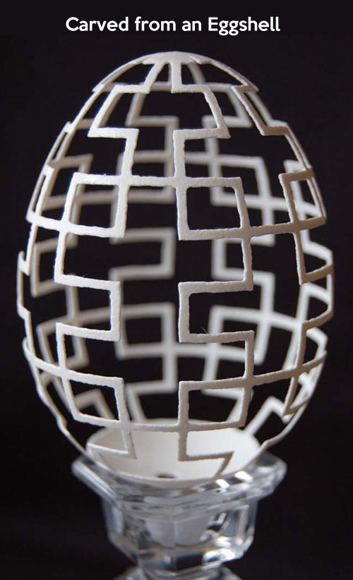 Eggshell precision…