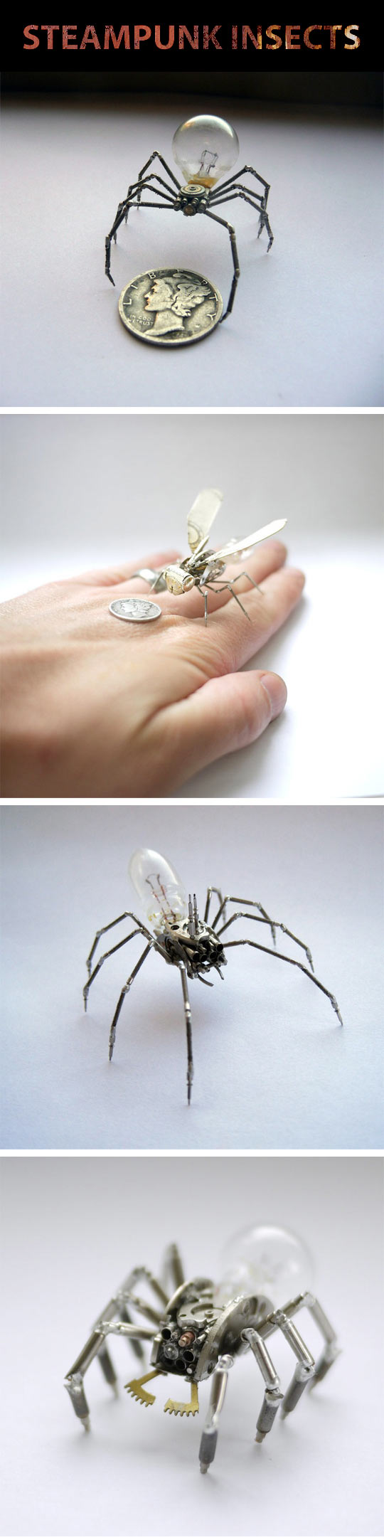 cool-insect-robot-steampunk-spider-coin
