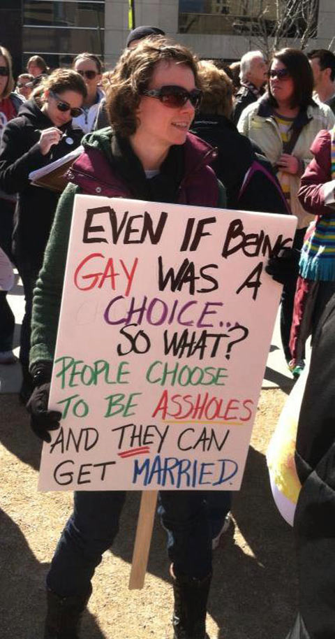 The lady has a good point…