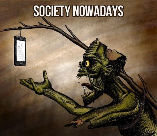 Society these days…