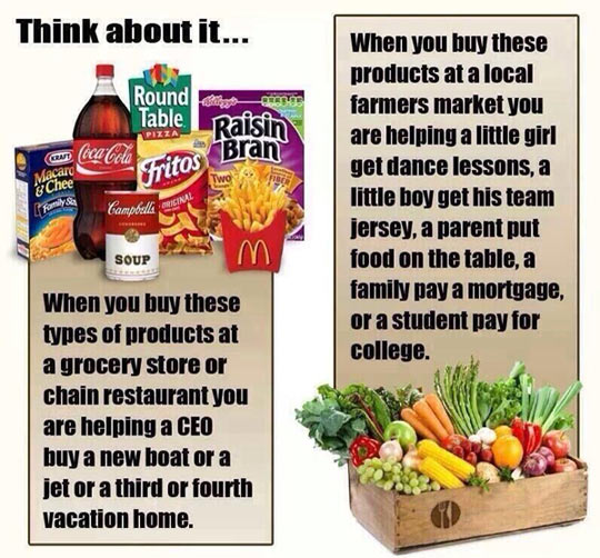 When buying, choose wisely…