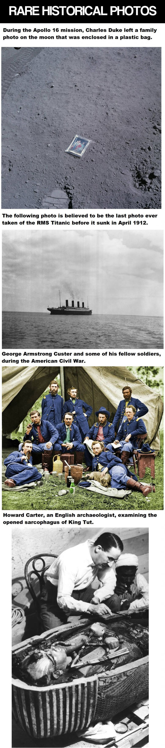 Rare historical photographs...