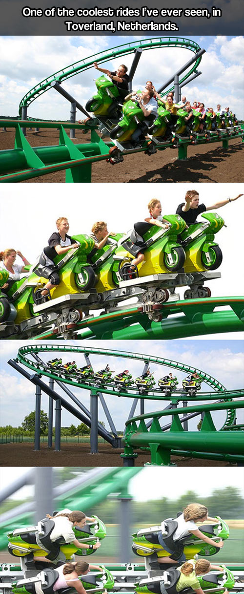 This hast to be the greatest ride in the world…