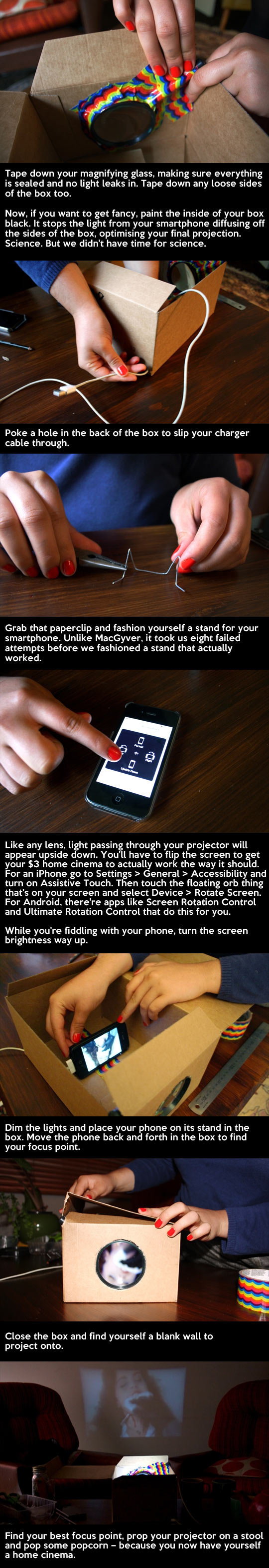 cool-smartphone-projector-cheap-lens