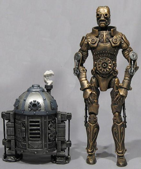 Steam Punk Star Wars Robots…