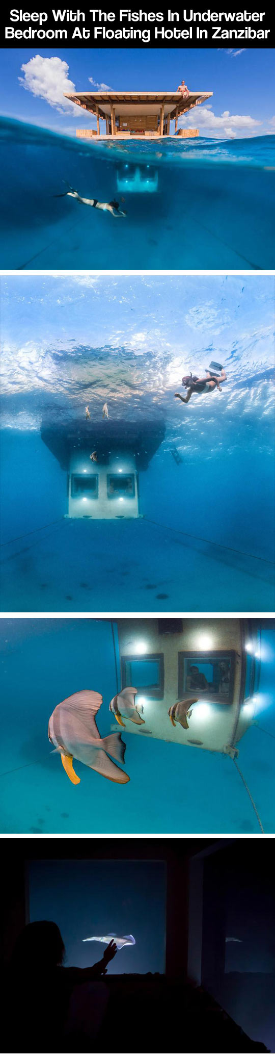 Awesome underwater bedroom...