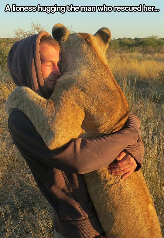 Pure unconditional love…