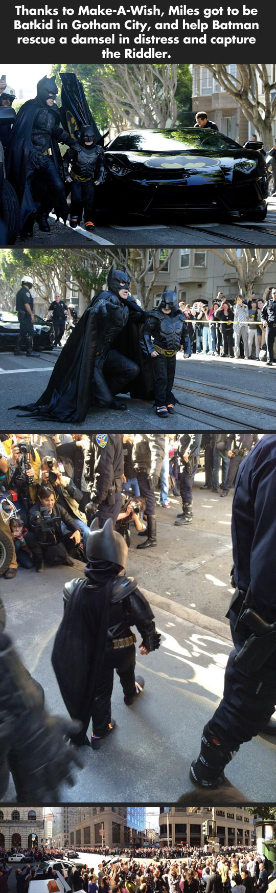 Batkid for one day...