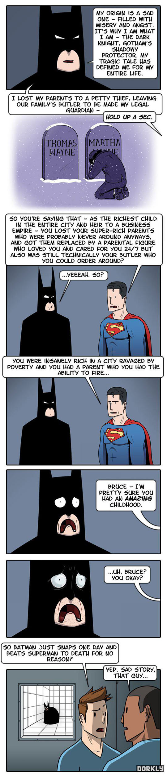 Stop Whining Bruce…